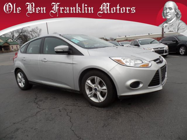 2014 FORD FOCUS SE 4DR HATCHBACK silver impact sensor post-collision safety systemstability cont