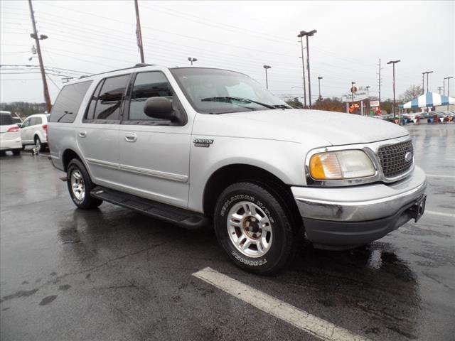 2002 FORD EXPEDITION XLT 2WD 4DR SUV silver security anti-theft alarm systemabs brakes 4-wheel