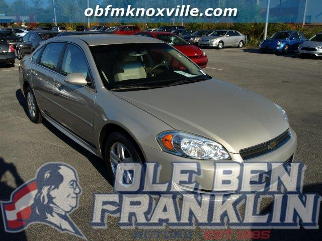 2009 CHEVROLET IMPALA LS 4DR SEDAN gold mist metallic only 82272 miles scores 29 highway mpg an