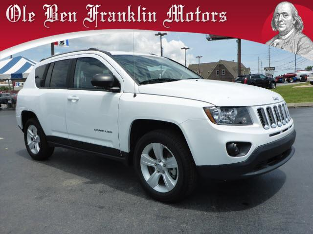 2016 JEEP COMPASS SPORT 4X4 4DR SUV white impact sensor post-collision safety systemcrumple zone