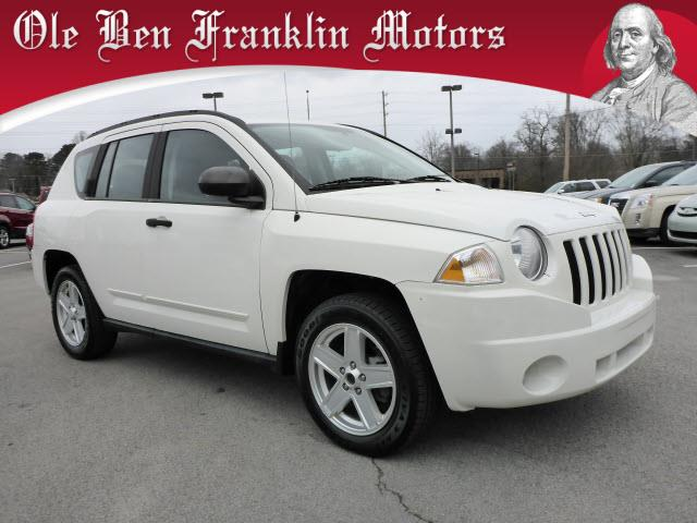 2010 JEEP COMPASS SPORT 4DR SUV white roll stability controlstability controlabs brakes 4-whee