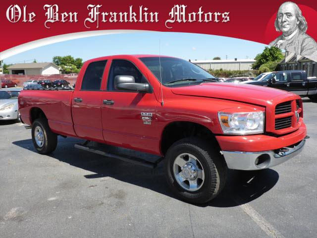 2009 DODGE RAM PICKUP 2500 ST red abs brakes 4-wheelair conditioning - frontair conditioning