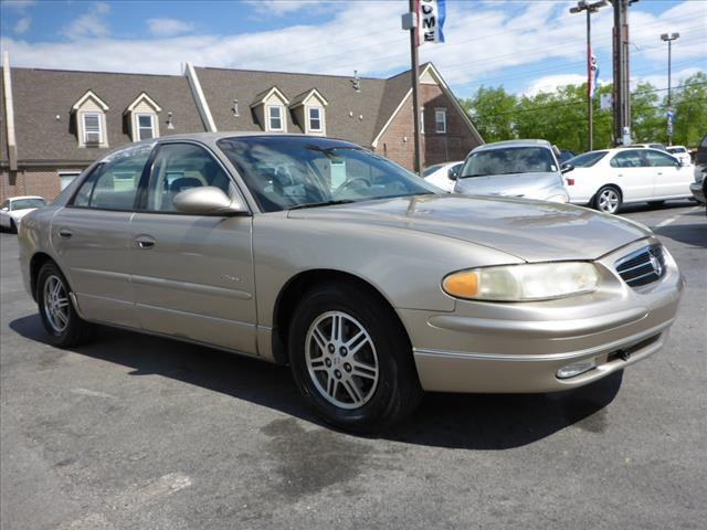2000 BUICK REGAL LS 4DR SEDAN gray security anti-theft alarm systemabs brakes 4-wheelair cond