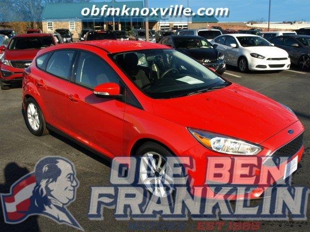 2015 FORD FOCUS SE 4DR HATCHBACK red scores 36 highway mpg and 26 city mpg this ford focus boast