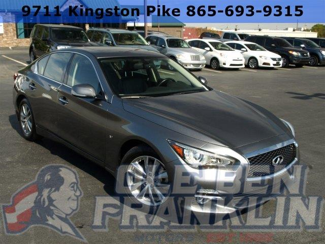 2015 INFINITI Q50 LEATHER SUNROOF gray delivers 30 highway mpg and 20 city mpg this infiniti q5