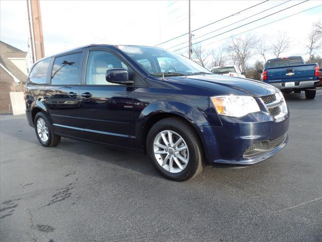 2014 DODGE GRAND CARAVAN SXT 4DR MINI VAN dk blue impact sensor post-collision safety systemsta