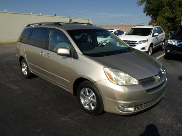 2004 TOYOTA SIENNA XLE tan scores 27 highway mpg and 19 city mpg this toyota sienna delivers a g
