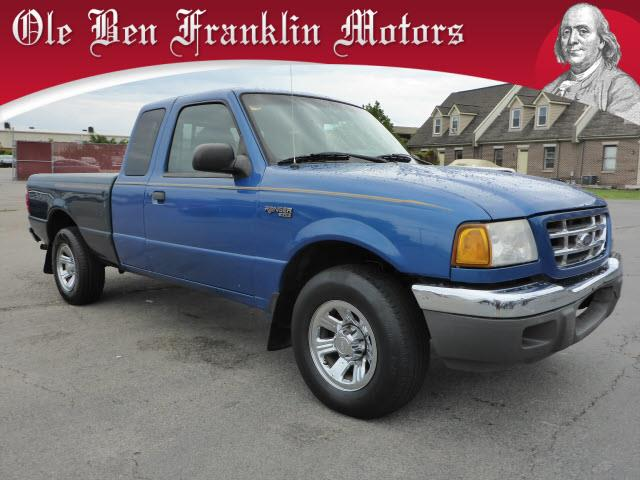 2001 FORD RANGER XLT blue security anti-theft alarm systemabs brakes 4-wheelairbags - front -