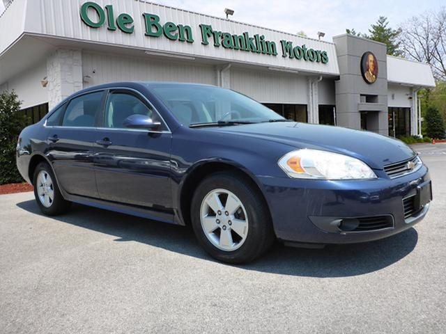 2010 CHEVROLET IMPALA LT 4DR SEDAN dk blue stability controldriver information systemabs brake