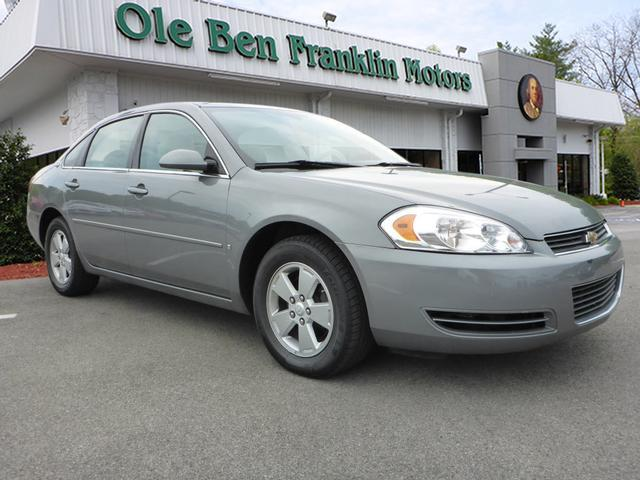 2007 CHEVROLET IMPALA LT 4DR SEDAN silver phone hands freesecurity remote anti-theft alarm syste