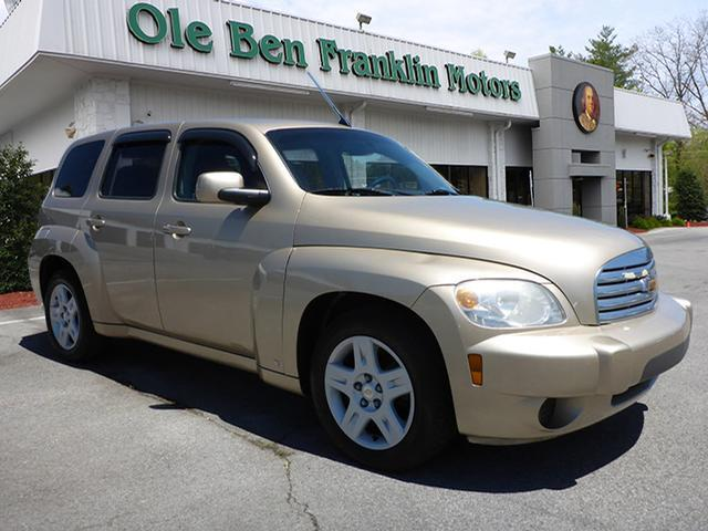 2008 CHEVROLET HHR LT 4DR WAGON lt brown security remote anti-theft alarm systemairbags - front