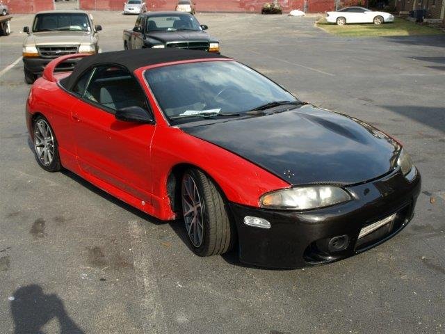 1999 MITSUBISHI ECLIPSE SPYDER GS 2DR CONVERTIBLE unspecified only 190635 miles this mitsubishi
