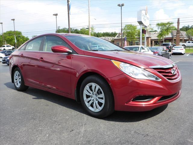 2013 HYUNDAI SONATA GLS dk red stability control electronicsecurity remote anti-theft alarm sys