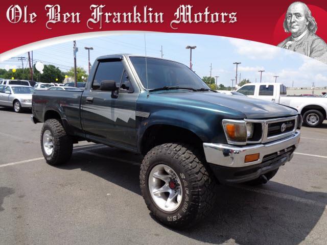Toyota pickup for sale for Ben franklin motors knoxville tn