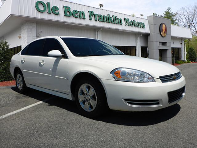2009 CHEVROLET IMPALA LT 4DR SEDAN white abs brakes 4-wheelair conditioning - air filtrationa