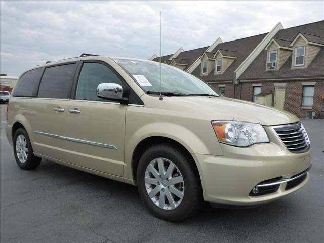 2011 CHRYSLER TOWN AND COUNTRY TOURING-L 4DR MINI VAN gold parking sensors frontparking sensors