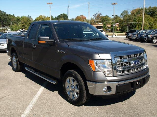 2014 FORD F-150 XLT EXT CAB CHROME PACKAGE sterling gray metallic delivers 23 highway mpg and 1