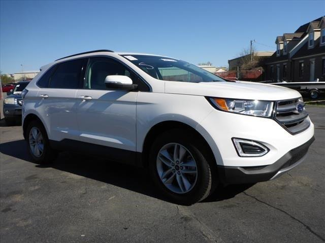 2015 FORD EDGE SEL AWD 4DR SUV white delivers 28 highway mpg and 20 city mpg this ford edge deli