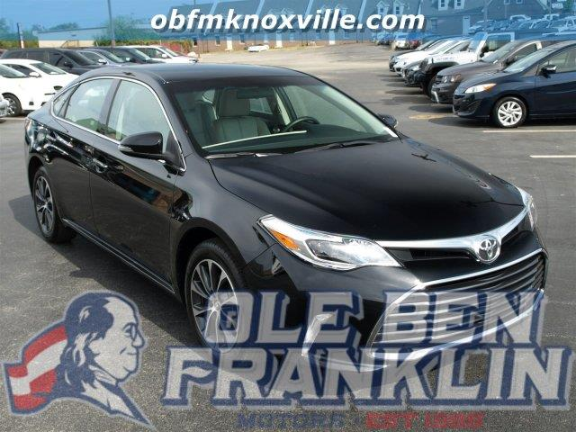 2016 TOYOTA AVALON XLE LEATHER midnight black metallic delivers 31 highway mpg and 21 city mpg t