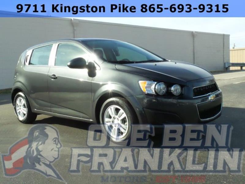 2016 chevrolet sonic for sale in covington la for Ole ben franklin motors knoxville