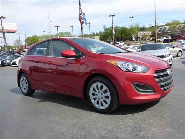 2016 HYUNDAI ELANTRA GT BASE 4DR HATCHBACK 6A red crumple zones frontcrumple zones rearsecurity