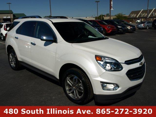 2016 CHEVROLET EQUINOX LTZ 4DR SUV summit white only 9750 miles boasts 32 highway mpg and 22 ci