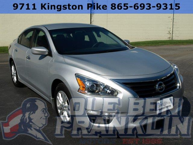 2014 NISSAN ALTIMA 25 4DR SEDAN silver boasts 38 highway mpg and 27 city mpg this nissan altima
