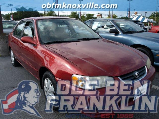 2002 TOYOTA COROLLA CE 4DR SEDAN impulse red delivers 41 highway mpg and 32 city mpg this toyota