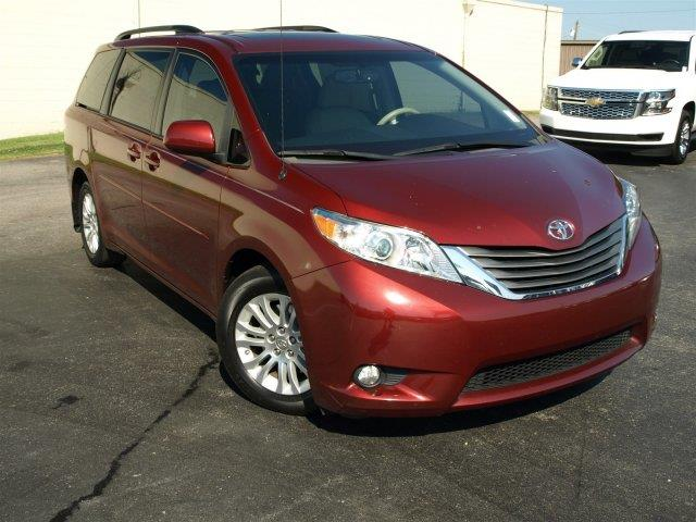 2013 TOYOTA SIENNA XLE AAS red scores 25 highway mpg and 18 city mpg this toyota sienna boasts a