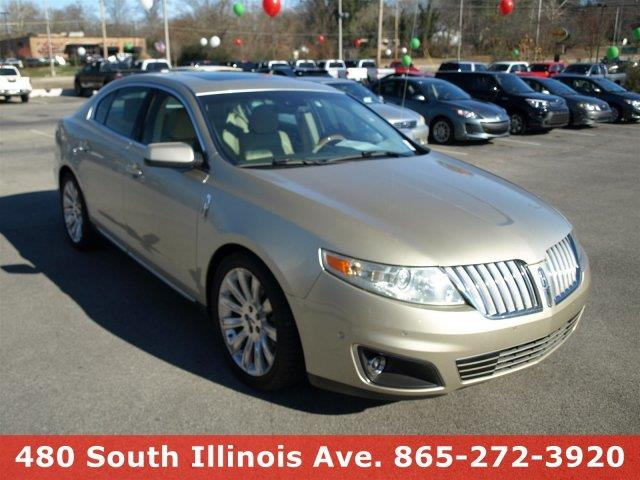 2010 LINCOLN MKS ECOBOOST AWD 4DR SEDAN gold delivers 25 highway mpg and 17 city mpg this lincol
