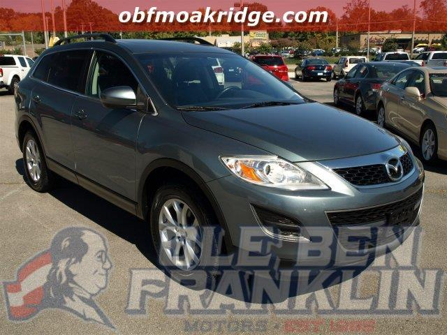2012 MAZDA CX-9 TOURING AWD 4DR SUV dolphin gray mica only 39662 miles scores 22 highway mpg an