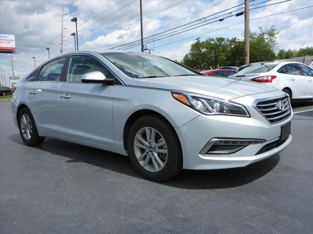 2015 HYUNDAI SONATA SE silver stability control electronicdriver information systemsecurity rem