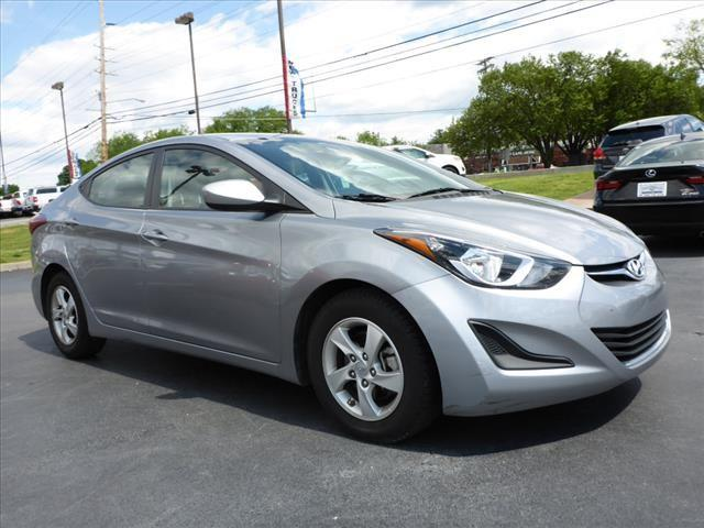 2015 HYUNDAI ELANTRA SE 4DR SEDAN silver stability control electronicsecurity remote anti-theft