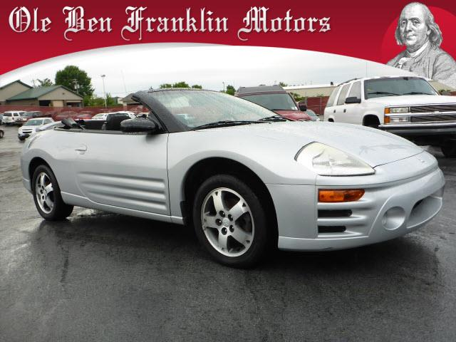 2005 MITSUBISHI ECLIPSE SPYDER GS 2DR CONVERTIBLE silver security anti-theft alarm systemair con