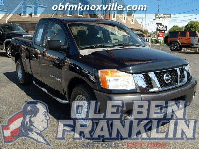 2008 NISSAN TITAN XE blue boasts 17 highway mpg and 12 city mpg this nissan titan delivers a gas