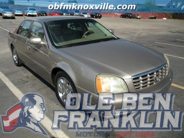 2002 CADILLAC DEVILLE DTS 4DR SEDAN cashmere boasts 27 highway mpg and 18 city mpg this cadillac