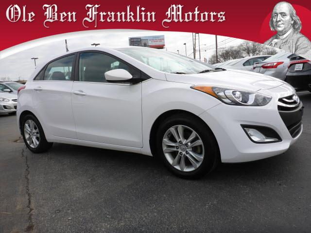 2014 HYUNDAI ELANTRA GT white crumple zones front and rearsecurity remote anti-theft alarm syste