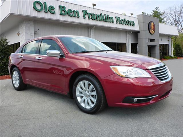 2014 CHRYSLER 200 LIMITED 4DR SEDAN red impact sensor post-collision safety systemsecurity remot