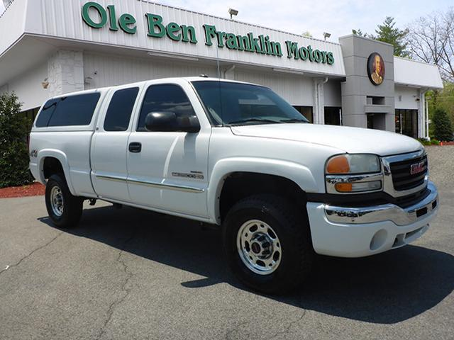 2003 GMC SIERRA 2500HD SLT white abs brakes 4-wheelair conditioning - frontair conditioning -