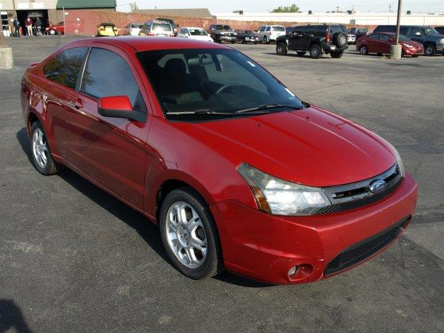 2010 FORD FOCUS SE 2DR COUPE red scores 35 highway mpg and 24 city mpg this ford focus boasts a
