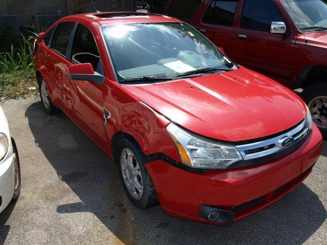 2008 FORD FOCUS vermillion red only 83850 miles delivers 35 highway mpg and 24 city mpg this f