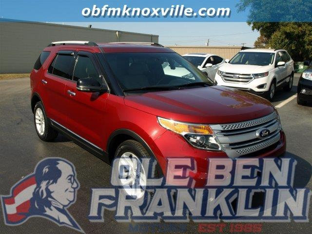 2013 FORD EXPLORER XLT 4DR SUV red scores 24 highway mpg and 17 city mpg this ford explorer deli