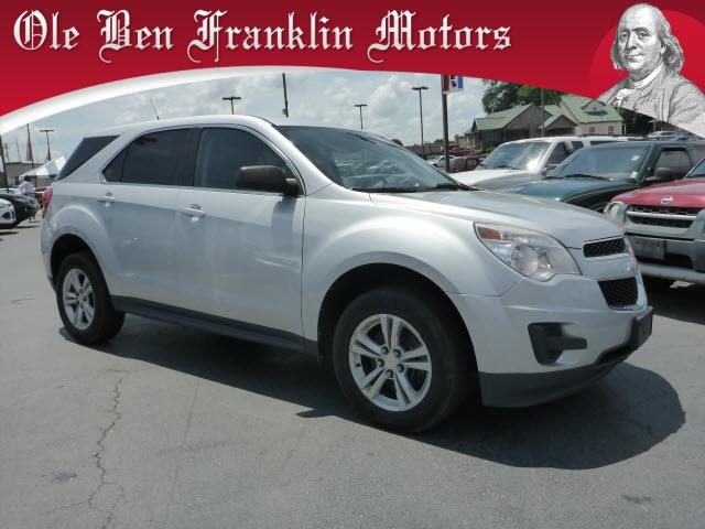 2010 CHEVROLET EQUINOX LS 4DR SUV silver stability control electronicabs brakes 4-wheelair co