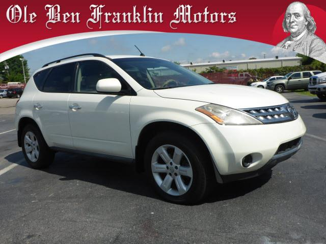 2007 NISSAN MURANO S AWD 4DR SUV off white security remote anti-theft alarm systemabs brakes 4-