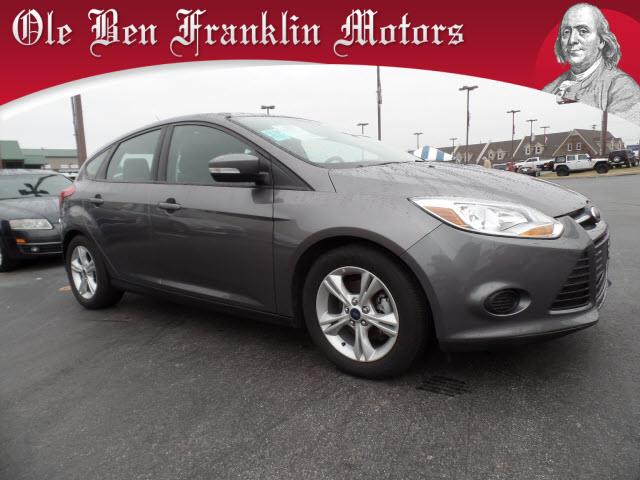 2014 FORD FOCUS SE 4DR HATCHBACK gray impact sensor post-collision safety systemstability contro
