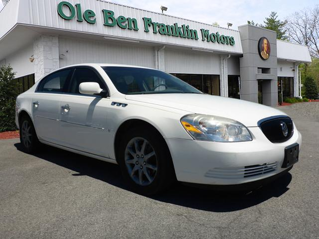 2006 BUICK LUCERNE CXL V6 4DR SEDAN off white phone hands freeairbags - front - dualairbags - p