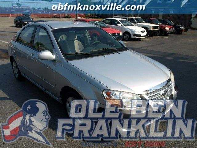 2007 KIA SPECTRA EX 4DR SEDAN 2L I4 4A silver scores 32 highway mpg and 24 city mpg this kia s