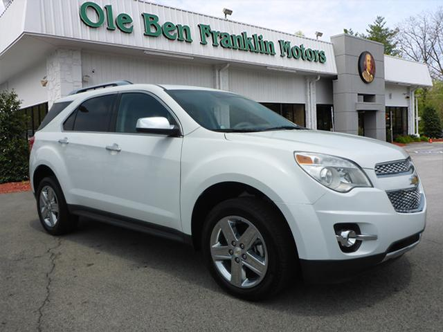 2015 CHEVROLET EQUINOX LTZ AWD 4DR SUV white fully loaded  tennessee all wheel drive alway