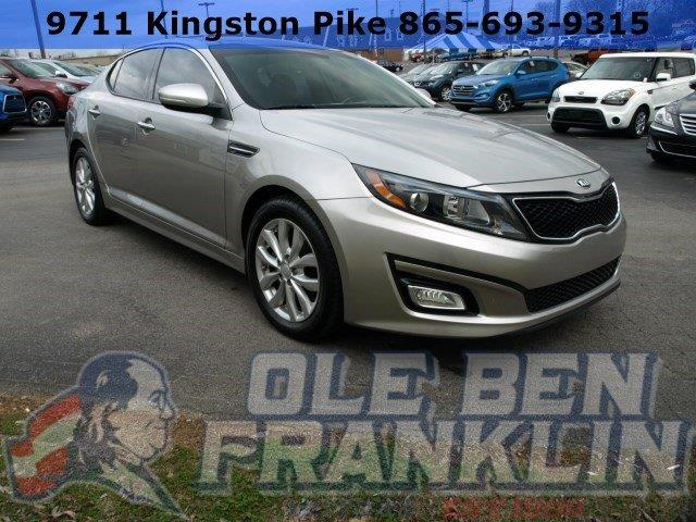 2015 KIA OPTIMA EX 4DR SEDAN silver only 19533 miles boasts 34 highway mpg and 23 city mpg thi