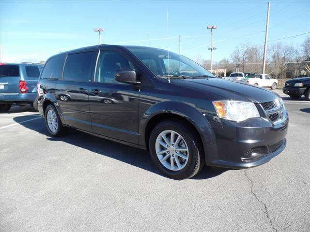 2014 DODGE GRAND CARAVAN SXT 4DR MINI VAN gray impact sensor post-collision safety systemstabili